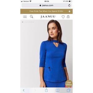 Royal blue JAANU scrub set